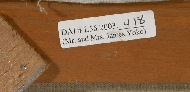 8: James Yoko (1916-2004) Clusters, Oil on canvas, - 6