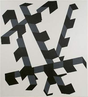 12: Allan D'Arcangelo (1930-1998) Constellation No. 12,