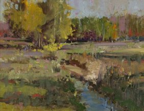8: Charles Warren Mundy (b. 1945) Near Batesville, Oil