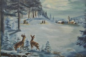 Harry Hoffmann (American, 20th Century) Winter Land