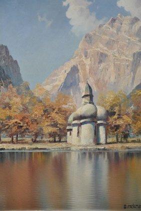 18: C. Huther Garmiech (20th Century) St. Bartoloma am