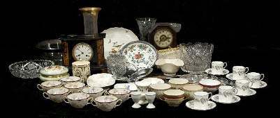 151A A Large Miscellaneous Collection of Porcelain Cry