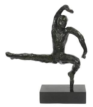 54: Auguste Rodin (1840-1917) Mouvement de Danse F,
