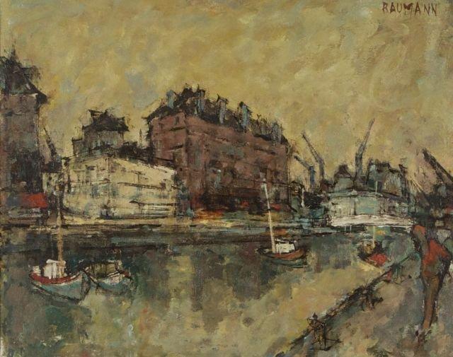 Joseph Raumann (French, 1908-1999) Basin du Roy,