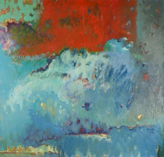 Bernard Weiner (20th Century) Brio, Oil on canvas,