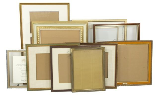 A Miscellaneous Collection of Decorative Frames, 20th C