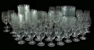 A Large Miscellaneous Collection of Glass Dishes Bowls