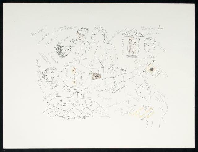 Henry Miller (1891-1980) Mozimotuka, Insomnia Series #1
