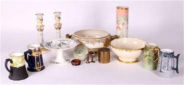 A Miscellaneous Collection of Ceramics