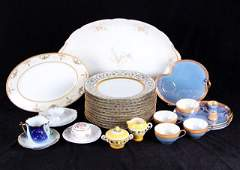 A Miscellaneous Collection of Ceramic Serving Items