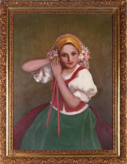Artist Unknown (Hungarian, 20th Century) Portrait of a