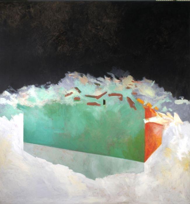Gang Zhao(b. 1961) Black Dream, Oil on canvas,