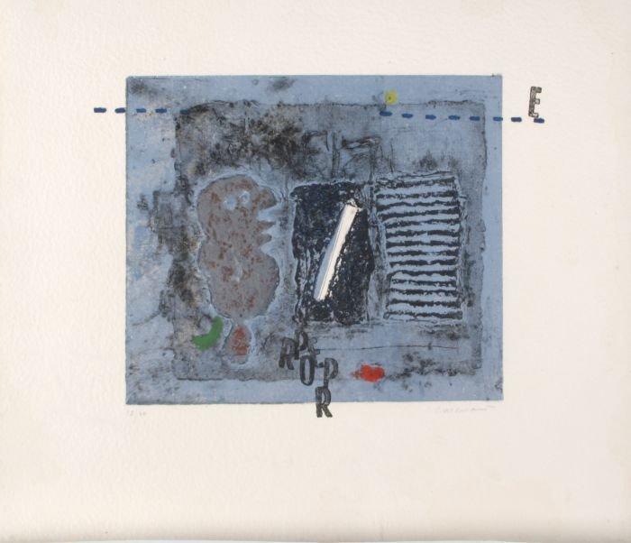 James Coignard (1925-2008) Four Works from Vigiles,