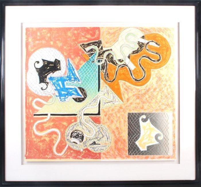 Frank Stella (b. 1936) Shards IV, from Shards, 1982,