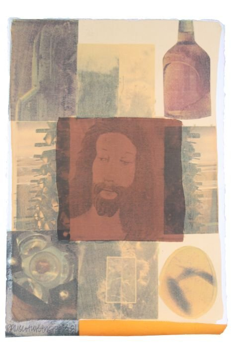 Robert Rauschenberg (1925-2008) Arcanum VI, 1981,