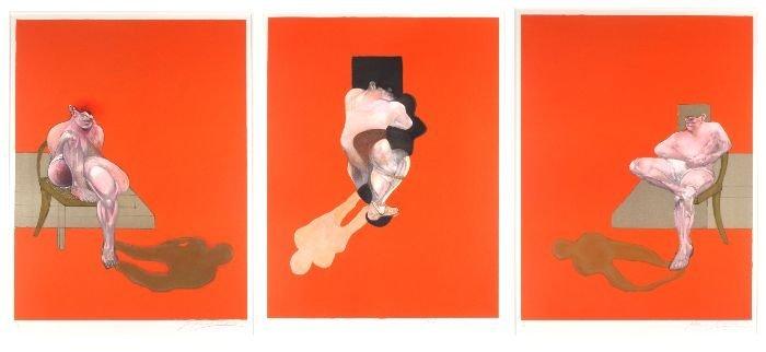 Francis Bacon (Irish, 1909-1992) Untitled Triptych,