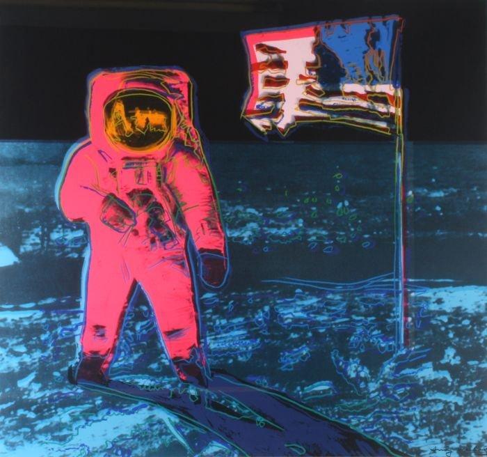 Andy Warhol (1928-1987) Moonwalk (Pink),1987,