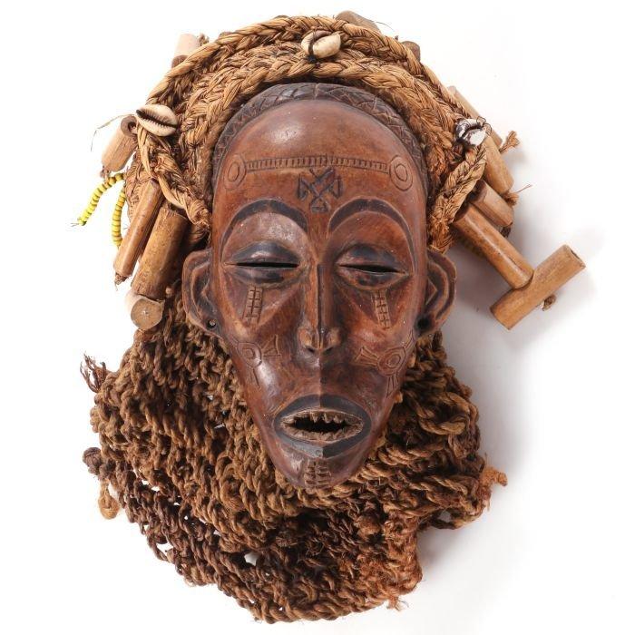 A Tshokwe (Chokwe) Tribe Carved Wood Mask, Africa, 20th
