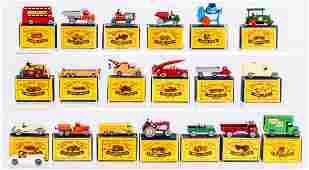A Collection of Twenty Matchbox by Moko Lesney I-75s