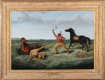 Arthur Fitzwilliam Tait (1819-1905) The Last Shot, Oil