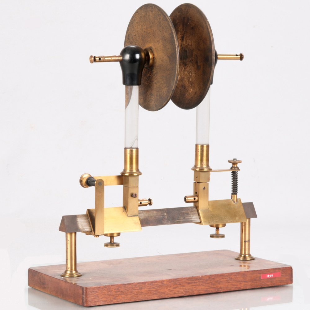 An Experimental Electric Capacitor, Late 19th/Early