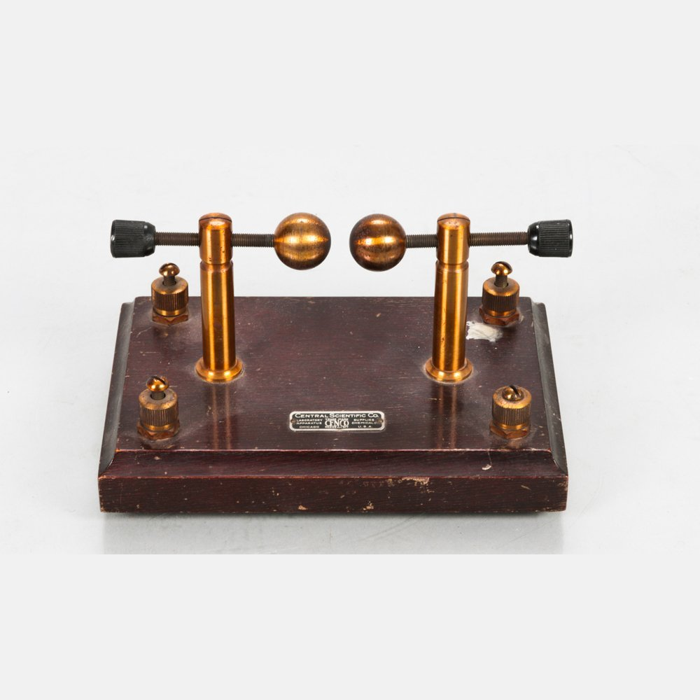 An Adjustable Spark Gap or Wireless Oscillator, Early
