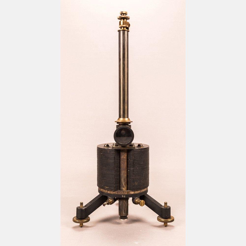A Filar Suspended D'Arsonoval Galvanometer, Late