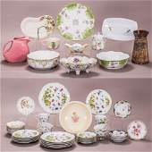 A Miscellaneous Collection of Porcelain Decorative and