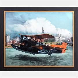 Albert J. Enckler (1921-2014) Loening C-2-C Air Yacht