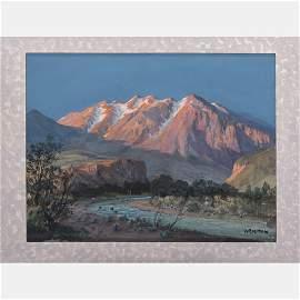 Archibald McNeal Willard (1836-1918) Mountain