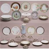 A Miscellaneous Collection of French Porcelain Serving