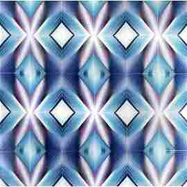 William Richards (1917-2004) Blue Rectangles,