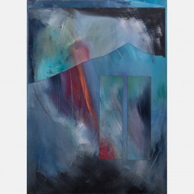 Jane Berger (american, 20th Century) Night Walk #1,