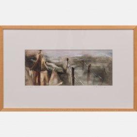 Lissa Bockrath (20th Century) The Fallen Steeple, 1996,