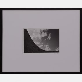 Philip Franta (20th Century) Landscape, Black And White