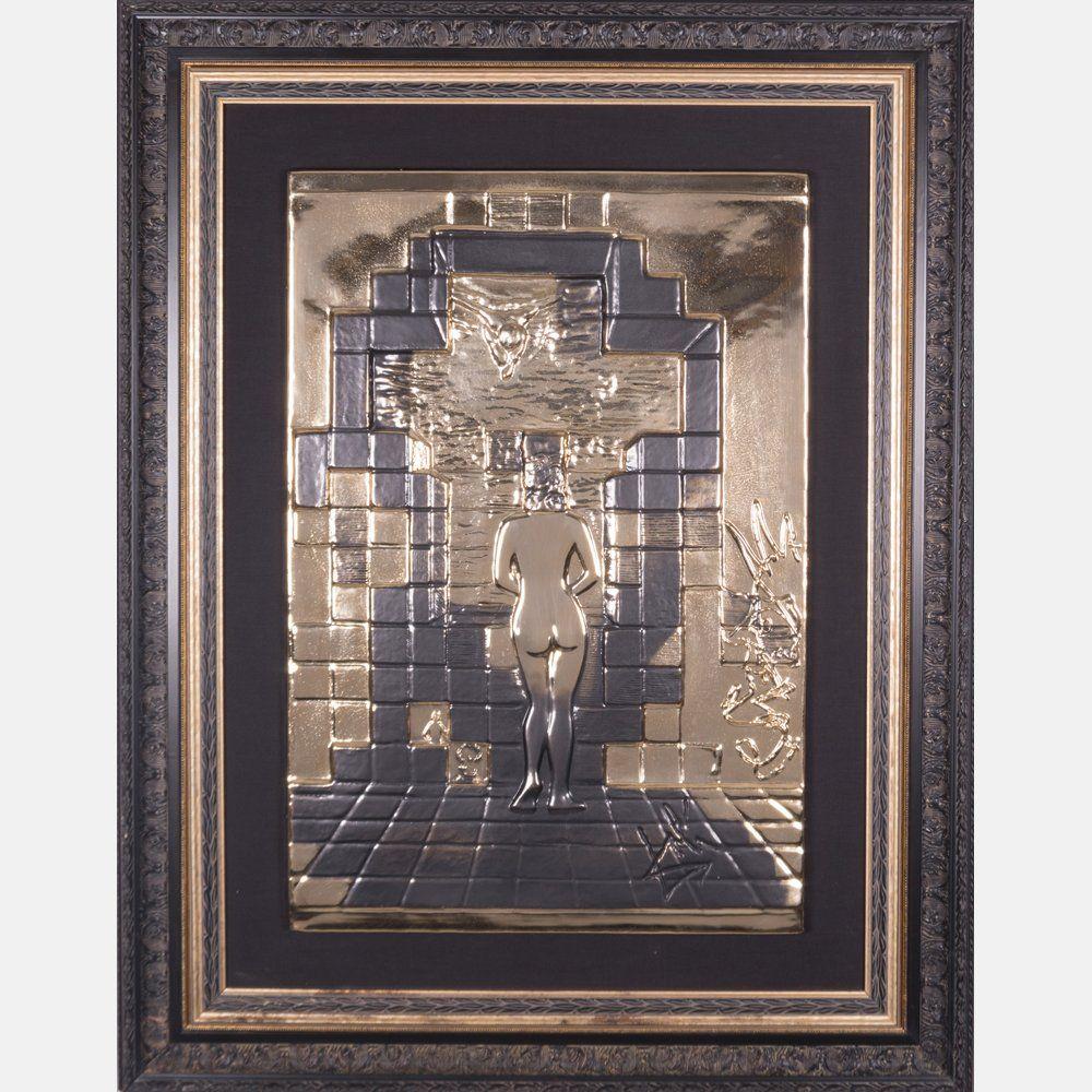 Salvador Dali (1904-1989) Lincoln in Dalivision, Gold