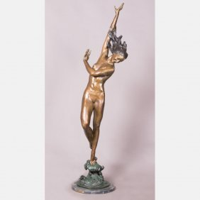 After Harriet Whitney Frishmuth (1880-1980) Flowing In