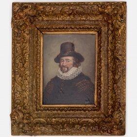 Dutch Old Master School (18th Century) Portrait