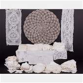 A Miscellaneous Collection of Vintage Linens and Lace