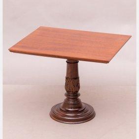 A Georgian Style Mahogany Side Table, 20th Century.