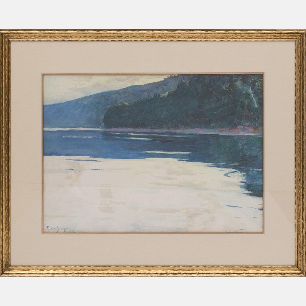 Frank Weston Benson (1862-1951) Study for Twilight