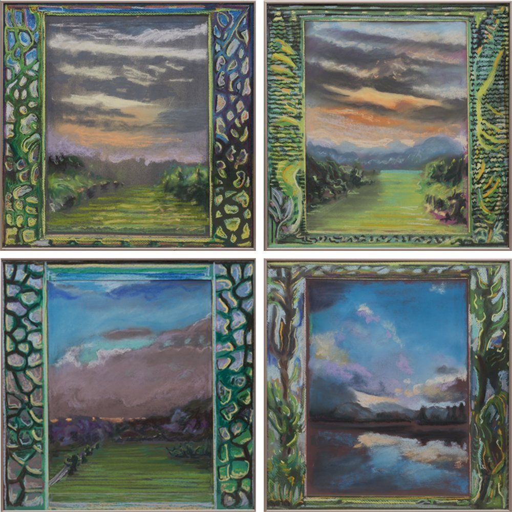 Lilian Tyrrell (1944-2007) A Collection of Four Studies