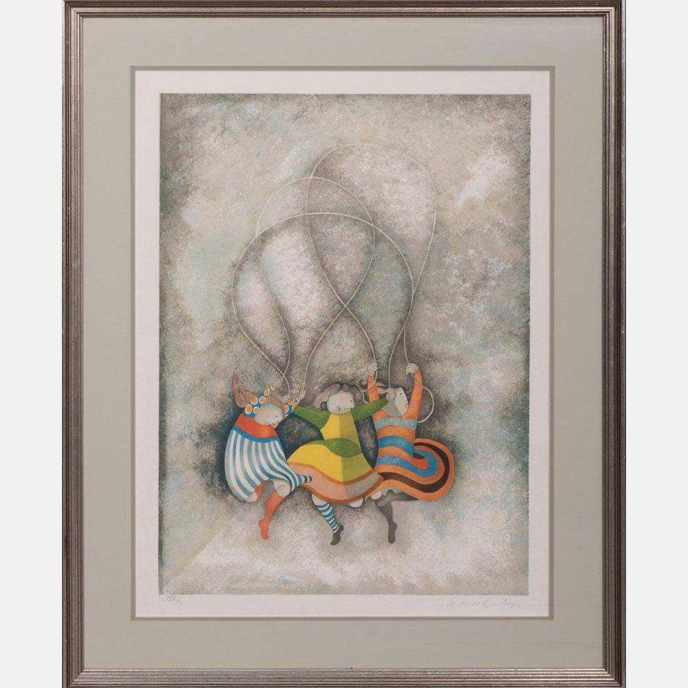 Graciela Rodo Boulanger (b. 1935) Jumping Rope,