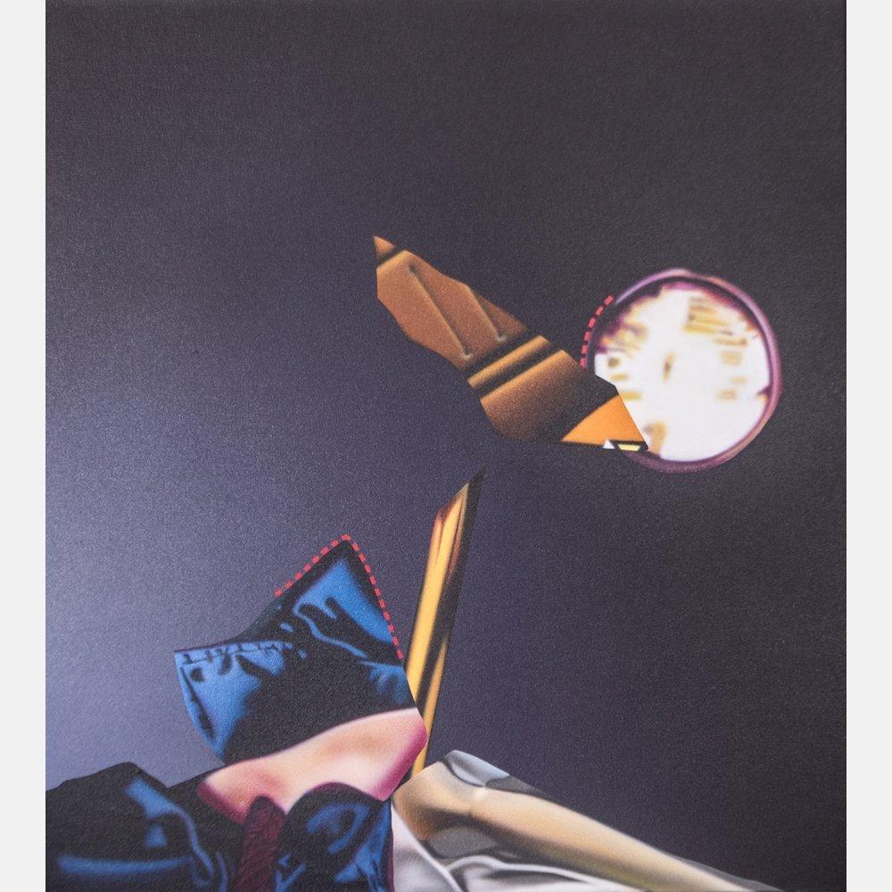 Christopher Pekoc (American, b. 1941) Nightflight,