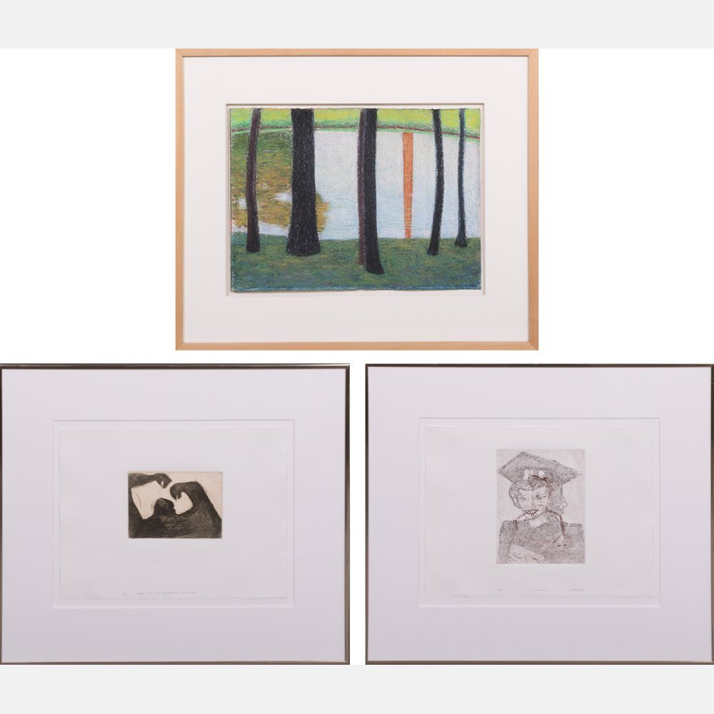 A Group of Three Decorative Works of Art by Various
