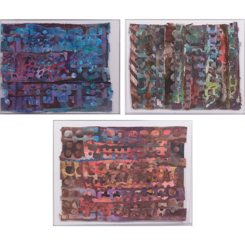 Jane Sari Berg (20th Century) The Beach, Sewn textiles,