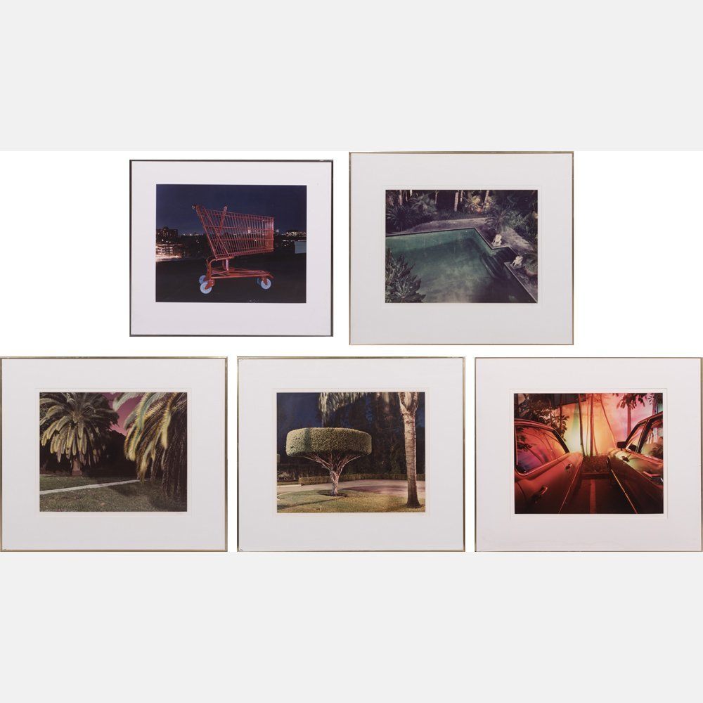 Penny Rakoff (American, 20th Century) Colored Pleasures