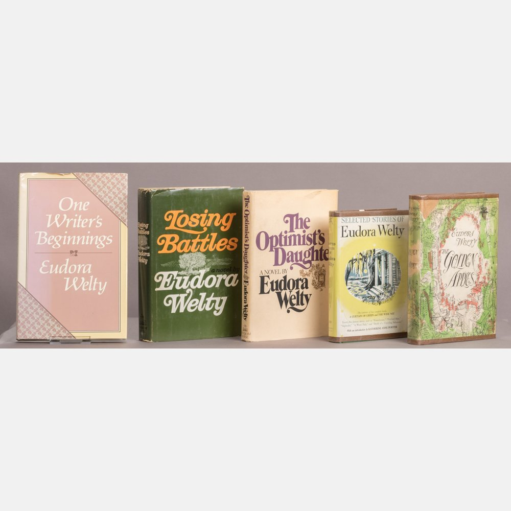 A Collection of Five Eudora Welty (1909-2001) Books,
