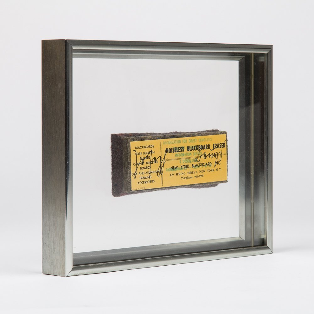 Joseph Beuys (1921-1986) Noiseless Blackboard Eraser, - 2