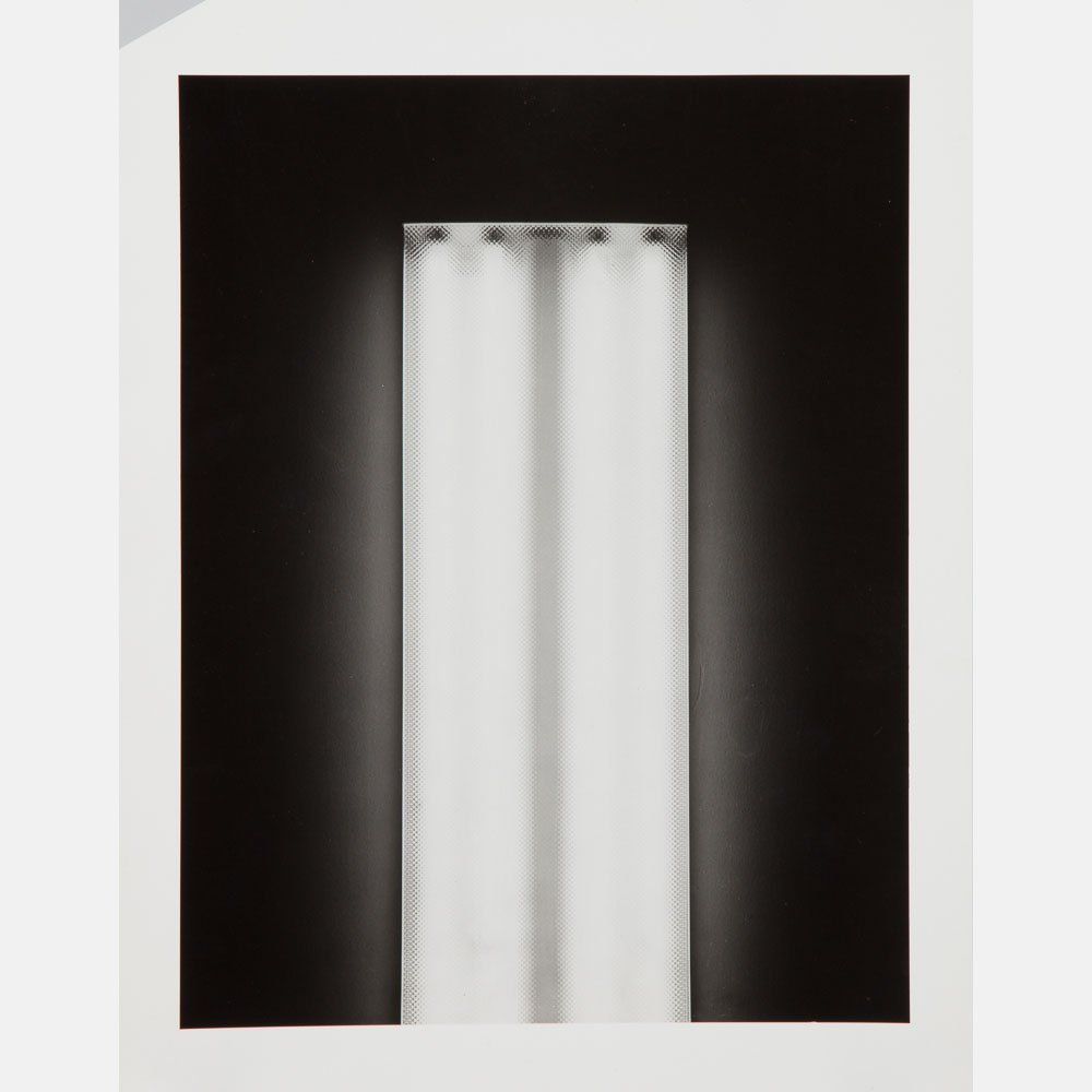James Welling (b. 1951) Kitchen Lamp, 1996, Black and